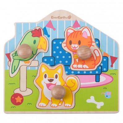 """Puzzle de Encaje """"Mascotas"""""""
