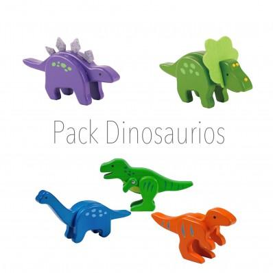 Pack 5 Dinosaurios